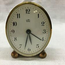 Vintage Clock pendulette réveil UTI design  fonctionne très bien