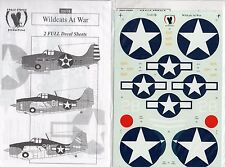 EAGLE STRIKE PRODUCTIONS 32015 - DECALS 1/32 WILDCATS AT WAR