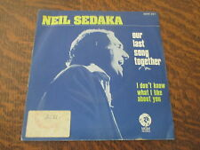 45 tours NEIL SEDAKA our last song together
