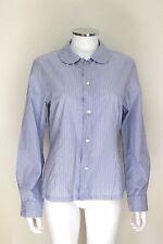 Commes des Garcon Blue striped shirt L