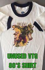 Rare 1970's vtg 80's PAPER THIN HULK Avengers Thor Ragnarok Movie nos t-shirt