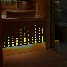 407PCS Luminous Round Dots Glow in The Dark Kids Bedroom Ceiling Wall Stickers