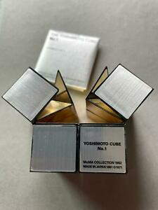 MoMA Naoki Yoshimoto CUBE Puzzle Gold & Siver Brand  IN THE MoMA COLLECTION