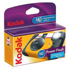 Kodak 27 + 12 Photos Power Flash HD Single Use Disposable ISO 800 Film Camera