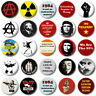 "ANARCHY & PUNK   - 1"" / 25mm Button Badge - Protest Revolution"