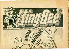 King Bee Underground Comix by Robert Crumb 1969
