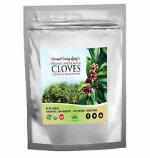 Organic Whole Cloves 1 lb Fair Trade in Mylar Bag w/ E-Book of Secrets of Cloves