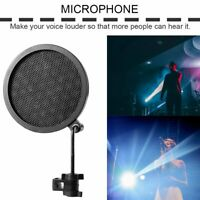 PS-2 Double Layer Studio Microphone Mic Wind Screen Pop Filter For Recording HI