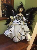 "Ashton Drake Nene Thomas Enchanted Fantasy Bride Doll 16"" Gothic Fairy"
