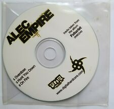 ALEC EMPIRE - Overdose / Hunt You Down / On Fire PROMO CD 2005  Digital Hardcore