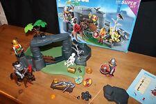 PLAYMOBIL 3137 Super Set Viking nascondiglio in scatola con istruzioni