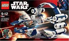 Lego StarWars 7661 - Jedi Starfighter mit Hyperdrive Booster Ring + OVP & BA