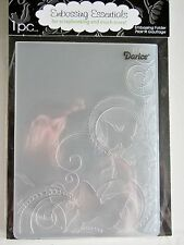 Butterflies in Corner Butterfly Darice Embossing Folder 1216-64 New