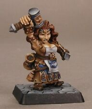 Margara Dwarf Mage Reaper Miniatures Warlord Wizard Cleric Spell Caster Magic