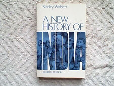 A New History of India by Stanley A. Wolpert