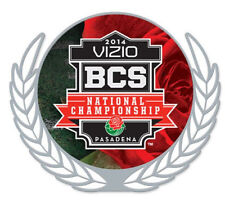 Official 2014 BCS Championship Logo Pin Florida State Seminoles vs Auburn Tigers