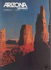ARIZONA HIGHWAYS ~ November 1974 ~ Bronzes