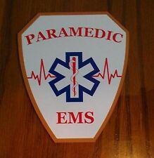 """Paramedic EMS Decal Contour Cut 4"""""""