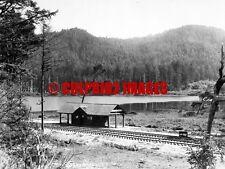 OREGON Lake Lytle - Tillamook Co - Pacific Railroad & Navigation Depot