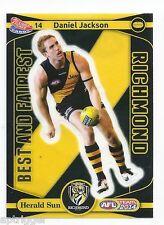 2014 Teamcoach Best & Fairest Sticker (14) Daniel JACKSON Richmond