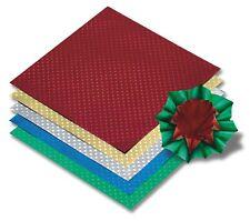 Faltblätter Origami aus -Alufolie STERN- Set 10x10 + 15x15 cm je 50 Blatt bunt