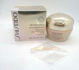 Shiseido Benefiance Wrinkle 24 Day Cream SPF 18 Sunscreen ~  50 ml /1.8 oz / BNI