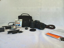 Sony A100 10.2MP Digital SLR Camera with Sigma 18-250 mm Lens, Plus Extras