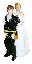 Hochzeitspaar Brautpaar Hochzeit Tortenfigur Deko Figur Hochzeitsfigur Heirat