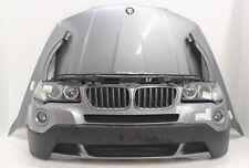 BMW X3 E83 3.0i LCI Front Frontpaket Motorhaube Stoßstange Kotflügel Vorderwand