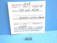 H & R  MOD.148- SINGLE SHOT SHOTGUN  (BARREL CATCH SPRING) (J-2839)