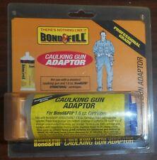 Bond & Fill Model # 160500 Caulking Gun Adaptor For 1.6oz Structural Cartridges