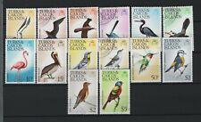 Turks & Caicos Islands - 1976-77 Birds Used Set
