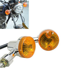 2 x Motorcycle Turn Signal Light Bulb Lamp 12V Amber Low Consumption Indicators