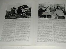 1943 magazine article ALASKAN HIGHWAY construction, Alaska  WWII Engineering