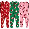 Carters Boys Girls Pajamas Fleece Footie One Piece Infant Baby 12M 18M 4T