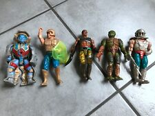 MOTU MASTERS of the Universe HE-MAN, Action Figuren 5 Stück  80/90 TOP  !!!