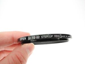 Tiffen 58mm To 62mm Camera Lens Step Up Ring Made In Japan