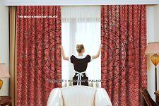 Indian Elephant Mandala Cotton Tapestry Doors Cutain Decor Window Curtains Set