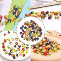 Mini Fruit Shaped Rubber Pencil Eraser Novelty Stationery Gift G0R D1B2 A1M1