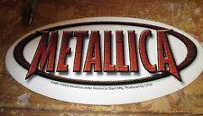METALLICA STICKER COLLECTIBLE RARE VINTAGE 2000 METAL LIVE WINDOW DECAL