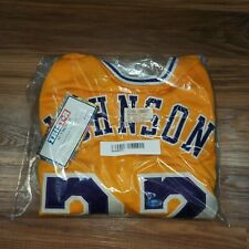 TRI STAR Authentic Signed MAGIC JOHNSON Jersey #32 Lakers LARGE