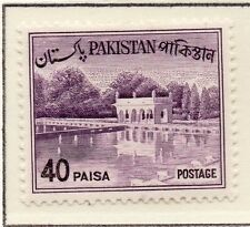 Pakistan 1961-63 Early Issue Fine Mint Hinged 40p. 081449