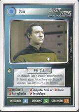 STAR TREK CCG WHITE BORDER PREMIERE 1995 BETA RARE CARD DATA