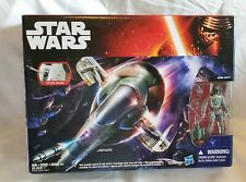 "Hasbro Star Wars Force Awakens Series 3.75"" Slave 1 Vehicle & Boba Fett Figure"