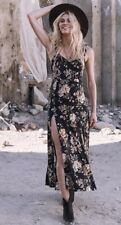 Spell & The Gypsy Collective Rosa Sun Dress in Coal XS