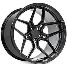 "4ea 22x10.5/22x11.5"" Staggered Rohana Wheels RFX11 Gloss Black Rims (S1)"