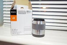Sony E-Mount SEL 50mm F/1.8 E OSS SEL50F18   Prime Lens with Original Box