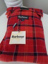 BMWT Barbour cardenal rojo Check Pijama Pantalones Pantalones del salón Talla S