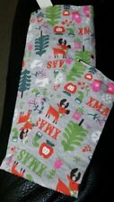 Girls Christmas Pants Leggings size 5T Trees Mittens reindeer Lol Vintage Nwt