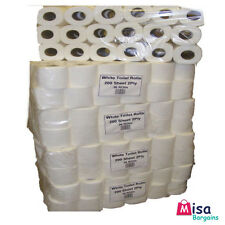 108 ROLLS TOILET PAPER-200 SHEETS PER ROLL (3 CASES OF 36) WHITE 2 PLY 21m/Roll